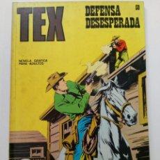 Cómics: TEX Nº 59 - DEFENSA DESESPERADA - BURU LAN EDICIONES. Lote 265741404