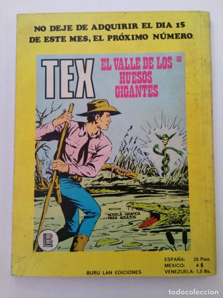 Cómics: TEX Nº 59 - DEFENSA DESESPERADA - BURU LAN EDICIONES - Foto 2 - 265741404