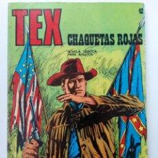 Cómics: TEX Nº 42 - CHAQUETAS ROJAS - BURU LAN EDICIONES. Lote 265741839