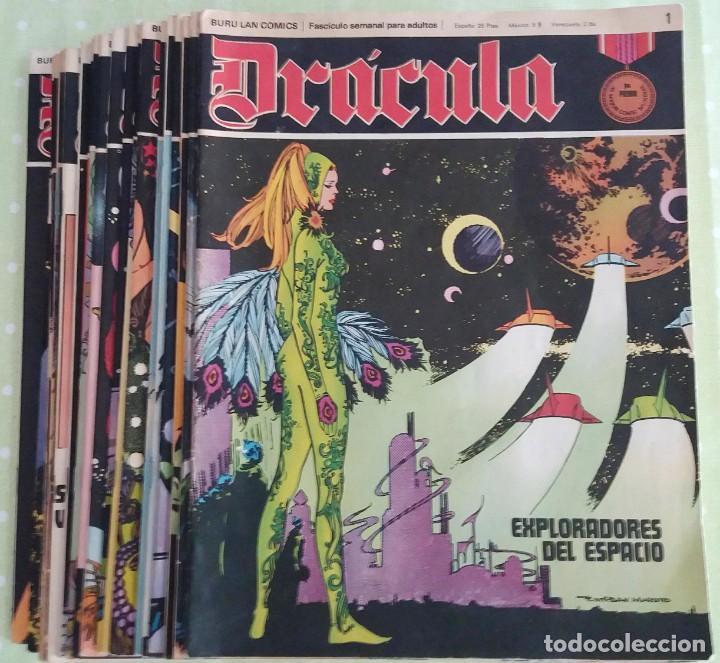 LOTE 24 DRÁCULA. COMIC. BURU LAN EDICIONES. 1972. HÉROES DEL COMIC (Tebeos y Comics - Buru-Lan - Drácula)