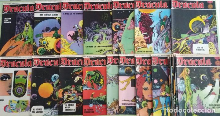 Cómics: Lote 24 Drácula. Comic. Buru Lan ediciones. 1972. Héroes del comic - Foto 3 - 265983743
