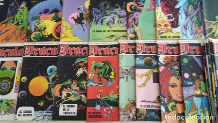 Cómics: Lote 24 Drácula. Comic. Buru Lan ediciones. 1972. Héroes del comic - Foto 5 - 265983743