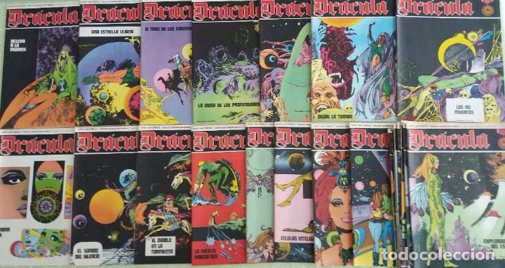 Cómics: Lote 24 Drácula. Comic. Buru Lan ediciones. 1972. Héroes del comic - Foto 7 - 265983743