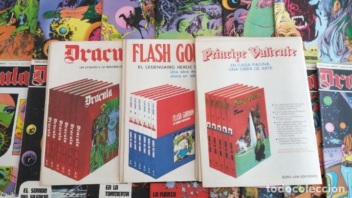 Cómics: Lote 24 Drácula. Comic. Buru Lan ediciones. 1972. Héroes del comic - Foto 8 - 265983743