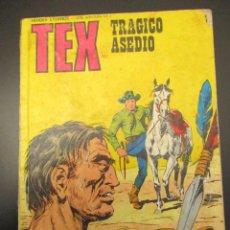 Comics : TEX (1970, BURU LAN) 70 · 1971 · TRÁGICO ASEDIO. Lote 266465848