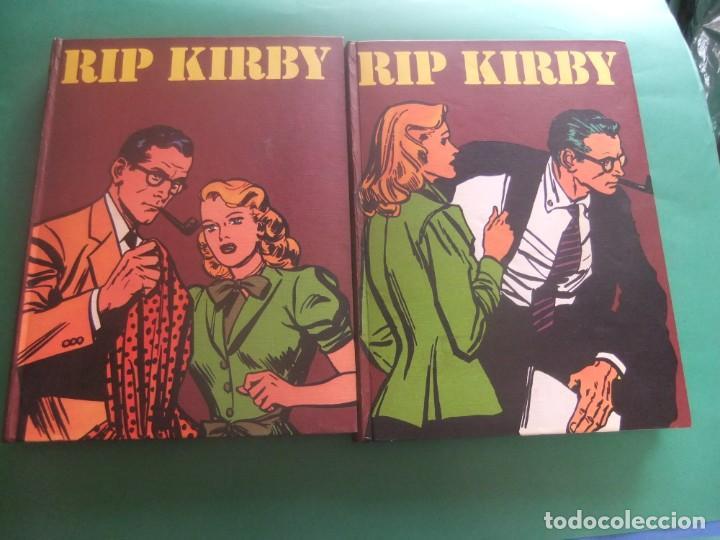 RIP KIRBY TOMOS 1 Y 2 BURU LAN EDOCIONES 1973 (Tebeos y Comics - Buru-Lan - Rip Kirby)