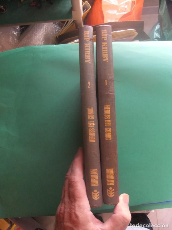 Cómics: RIP KIRBY TOMOS 1 Y 2 BURU LAN EDOCIONES 1973 - Foto 3 - 266496618