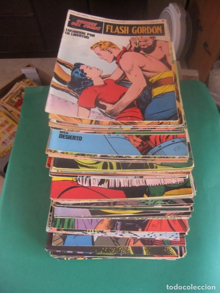 FLASH GORDON LOTE DE 73 NUMEROS EDICIONES BURU LAN 1972 (Tebeos y Comics - Buru-Lan - Flash Gordon)