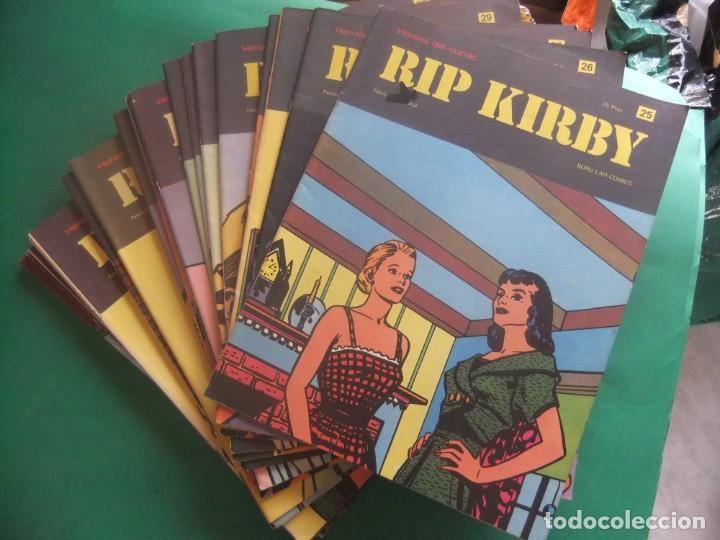 RIP KIRBY LOTE CON LOS NUMEROS DEL 25 AL 48 BURU LAN EDICIONES 1974 (Tebeos y Comics - Buru-Lan - Rip Kirby)