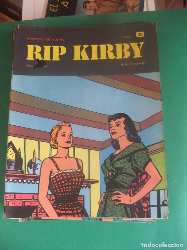 Cómics: RIP KIRBY LOTE CON LOS NUMEROS DEL 25 AL 48 BURU LAN EDICIONES 1974 - Foto 2 - 266505843