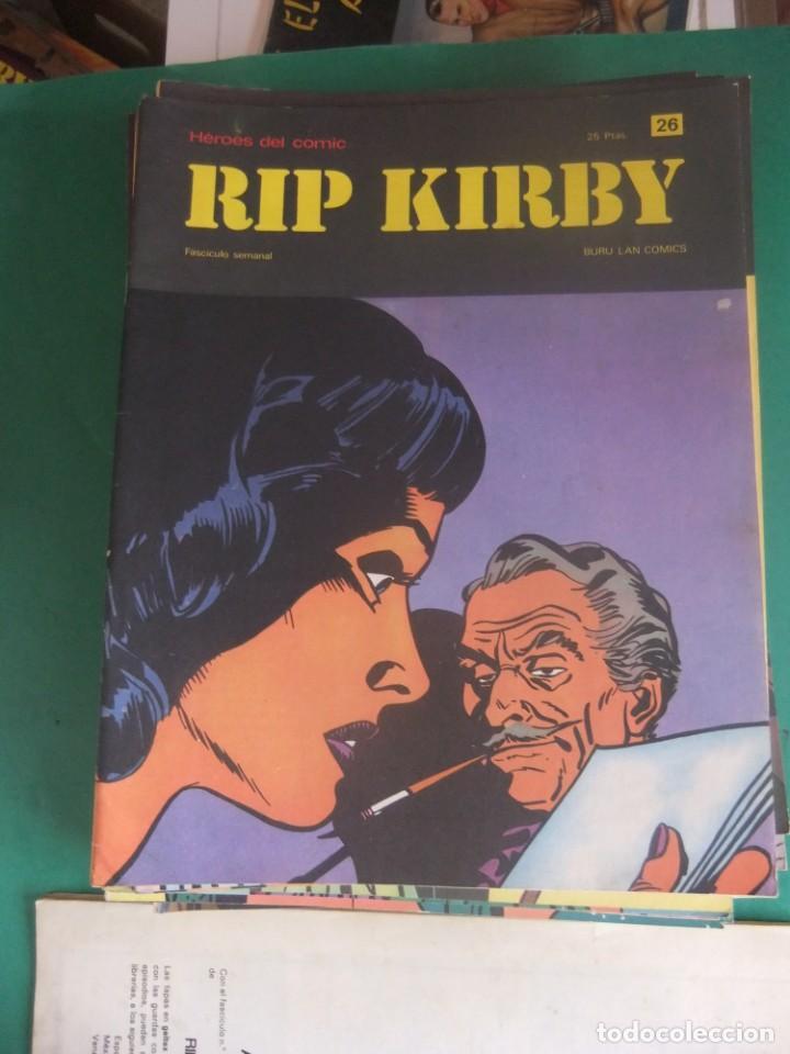 Cómics: RIP KIRBY LOTE CON LOS NUMEROS DEL 25 AL 48 BURU LAN EDICIONES 1974 - Foto 3 - 266505843