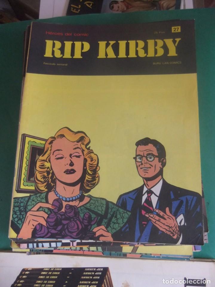 Cómics: RIP KIRBY LOTE CON LOS NUMEROS DEL 25 AL 48 BURU LAN EDICIONES 1974 - Foto 4 - 266505843