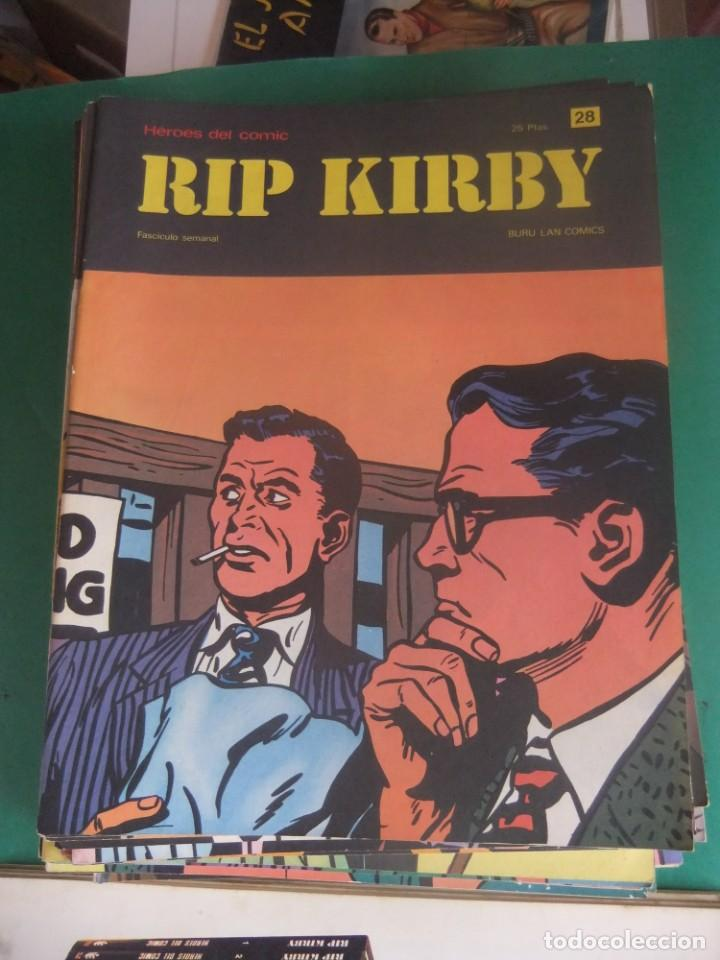 Cómics: RIP KIRBY LOTE CON LOS NUMEROS DEL 25 AL 48 BURU LAN EDICIONES 1974 - Foto 5 - 266505843