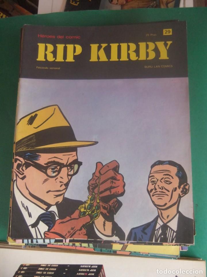 Cómics: RIP KIRBY LOTE CON LOS NUMEROS DEL 25 AL 48 BURU LAN EDICIONES 1974 - Foto 6 - 266505843