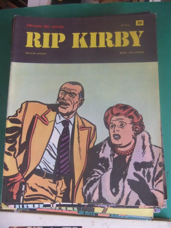 Cómics: RIP KIRBY LOTE CON LOS NUMEROS DEL 25 AL 48 BURU LAN EDICIONES 1974 - Foto 7 - 266505843