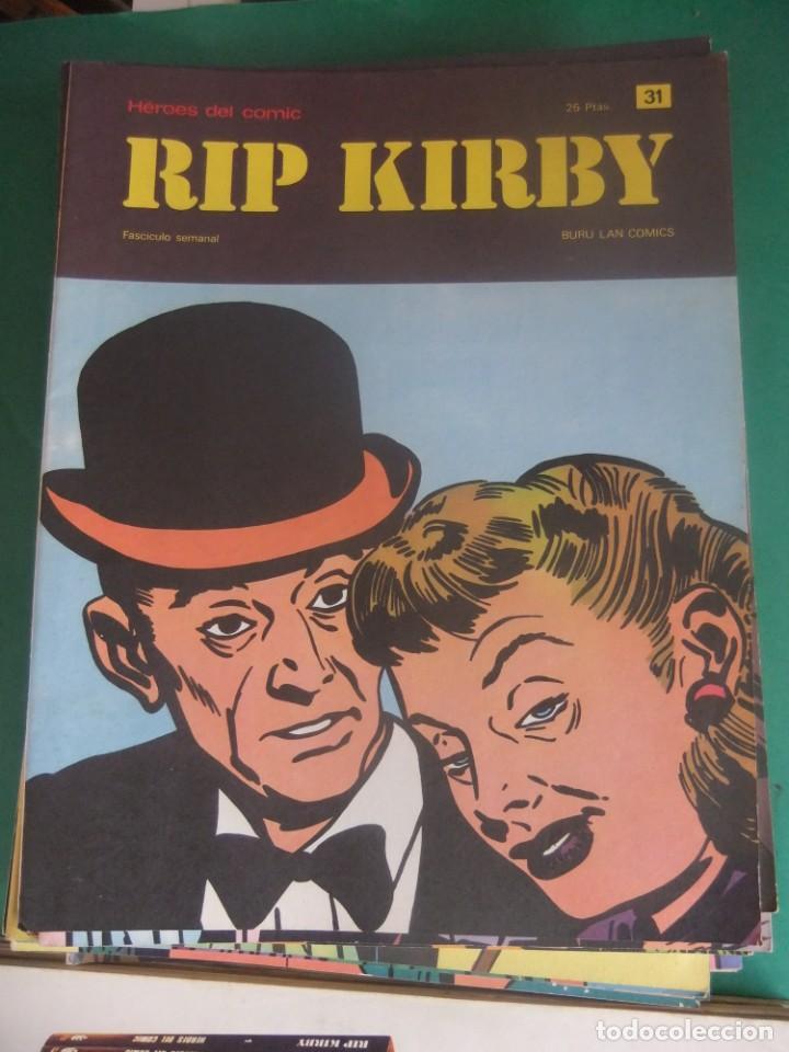 Cómics: RIP KIRBY LOTE CON LOS NUMEROS DEL 25 AL 48 BURU LAN EDICIONES 1974 - Foto 8 - 266505843