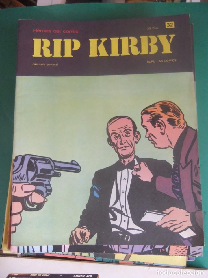 Cómics: RIP KIRBY LOTE CON LOS NUMEROS DEL 25 AL 48 BURU LAN EDICIONES 1974 - Foto 9 - 266505843