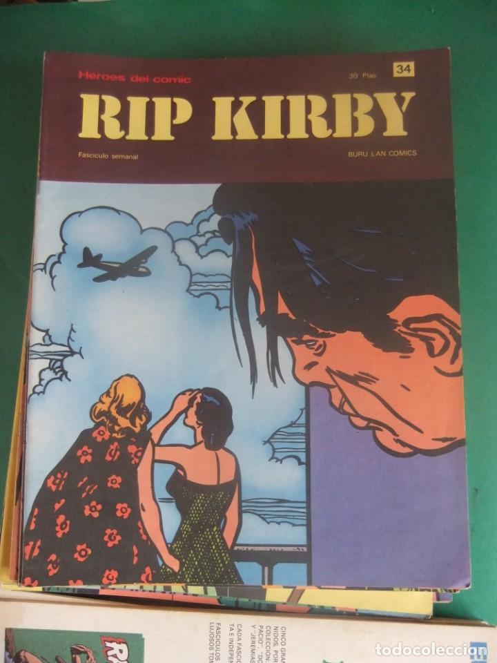 Cómics: RIP KIRBY LOTE CON LOS NUMEROS DEL 25 AL 48 BURU LAN EDICIONES 1974 - Foto 11 - 266505843