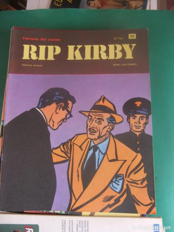 Cómics: RIP KIRBY LOTE CON LOS NUMEROS DEL 25 AL 48 BURU LAN EDICIONES 1974 - Foto 12 - 266505843
