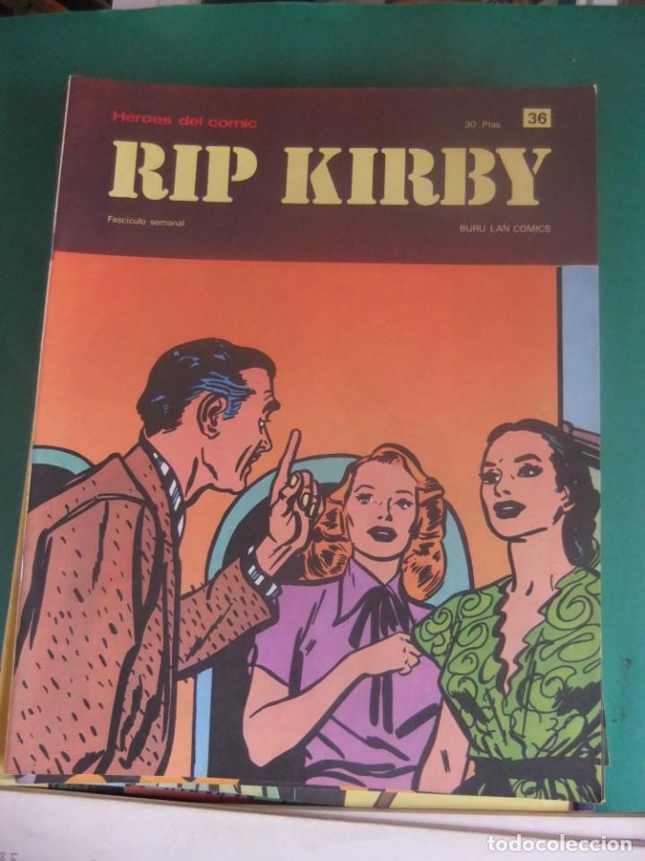 Cómics: RIP KIRBY LOTE CON LOS NUMEROS DEL 25 AL 48 BURU LAN EDICIONES 1974 - Foto 13 - 266505843