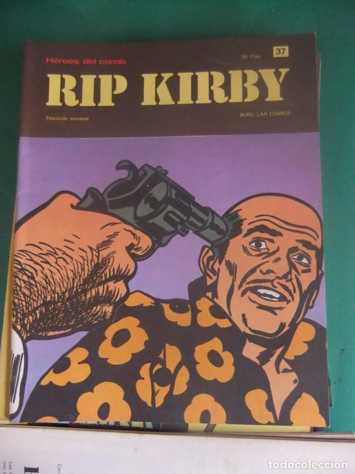 Cómics: RIP KIRBY LOTE CON LOS NUMEROS DEL 25 AL 48 BURU LAN EDICIONES 1974 - Foto 14 - 266505843