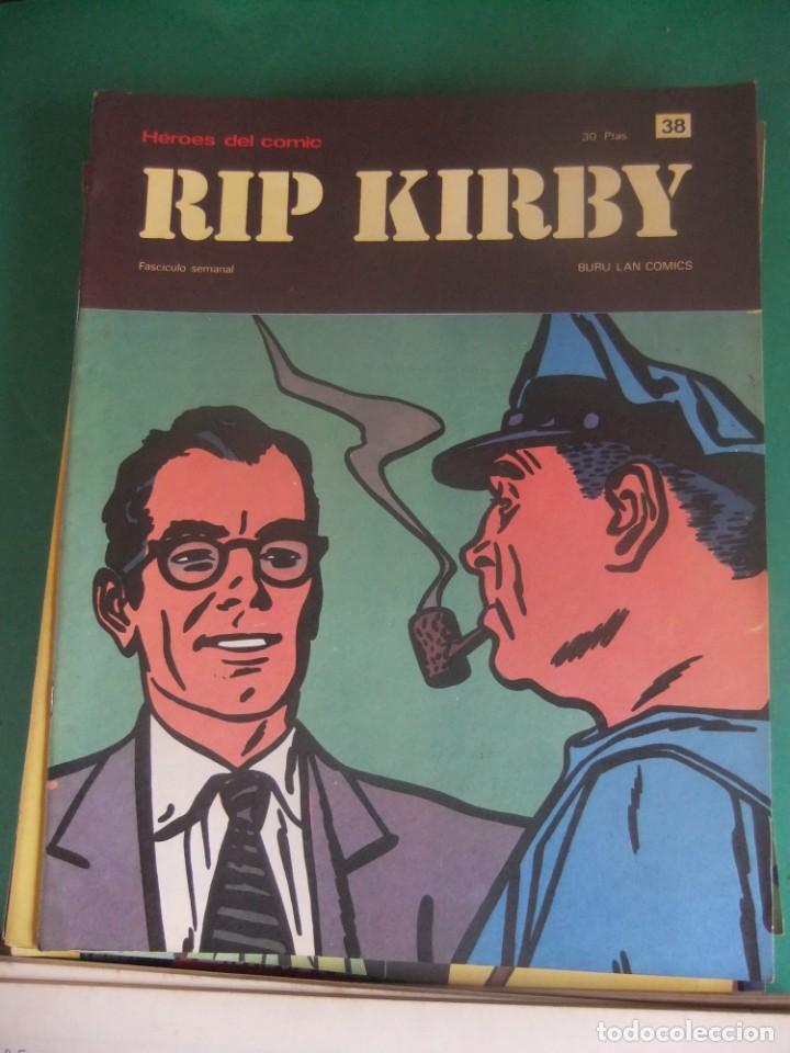 Cómics: RIP KIRBY LOTE CON LOS NUMEROS DEL 25 AL 48 BURU LAN EDICIONES 1974 - Foto 15 - 266505843
