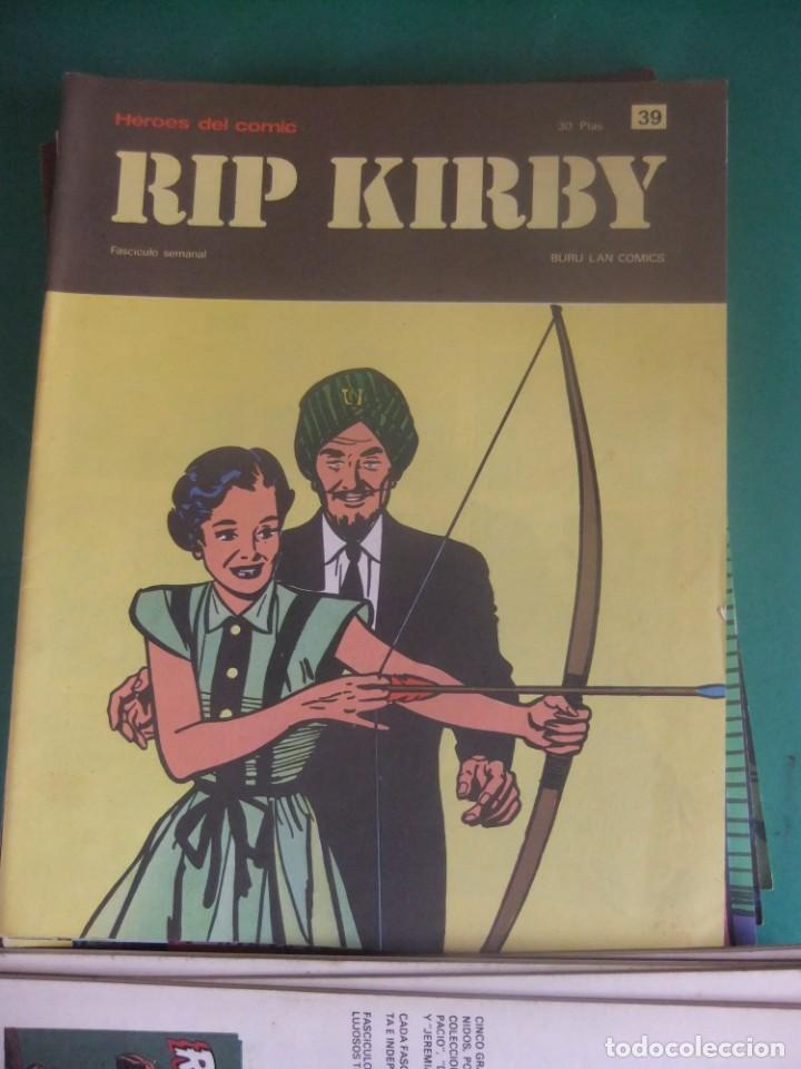 Cómics: RIP KIRBY LOTE CON LOS NUMEROS DEL 25 AL 48 BURU LAN EDICIONES 1974 - Foto 16 - 266505843