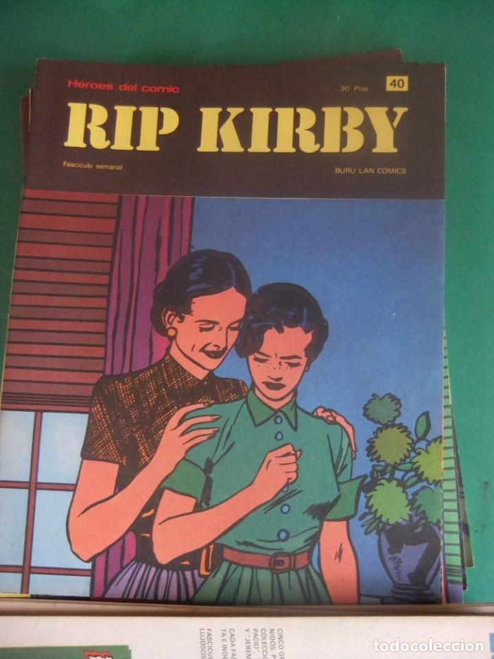 Cómics: RIP KIRBY LOTE CON LOS NUMEROS DEL 25 AL 48 BURU LAN EDICIONES 1974 - Foto 17 - 266505843