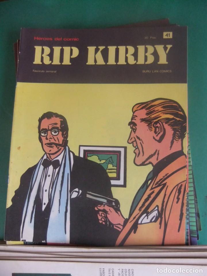 Cómics: RIP KIRBY LOTE CON LOS NUMEROS DEL 25 AL 48 BURU LAN EDICIONES 1974 - Foto 18 - 266505843