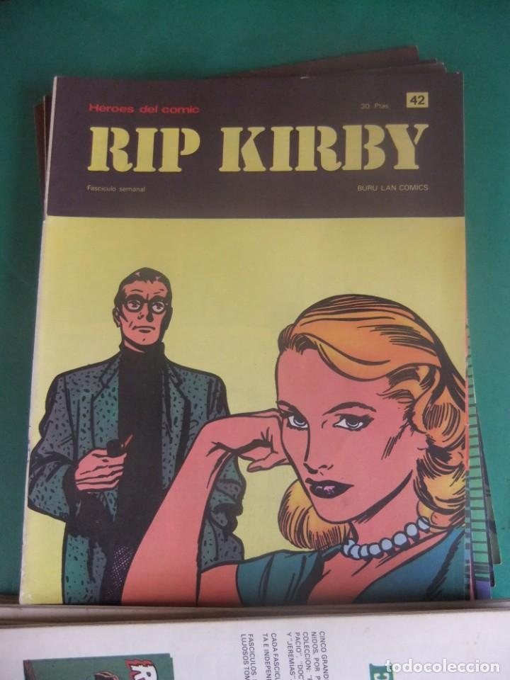 Cómics: RIP KIRBY LOTE CON LOS NUMEROS DEL 25 AL 48 BURU LAN EDICIONES 1974 - Foto 19 - 266505843