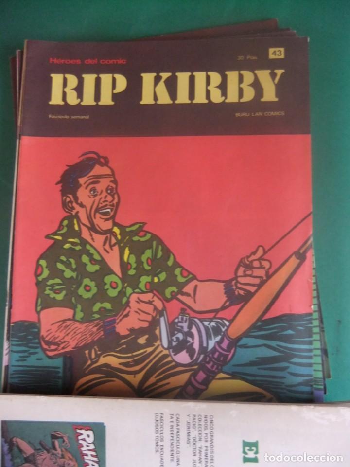 Cómics: RIP KIRBY LOTE CON LOS NUMEROS DEL 25 AL 48 BURU LAN EDICIONES 1974 - Foto 20 - 266505843