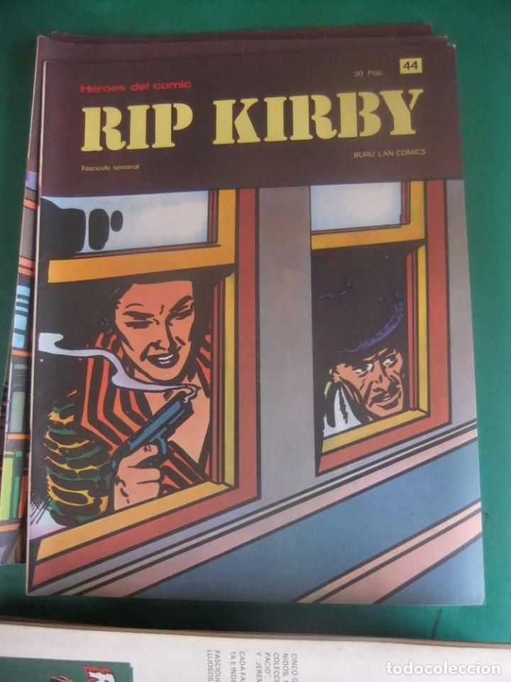 Cómics: RIP KIRBY LOTE CON LOS NUMEROS DEL 25 AL 48 BURU LAN EDICIONES 1974 - Foto 21 - 266505843
