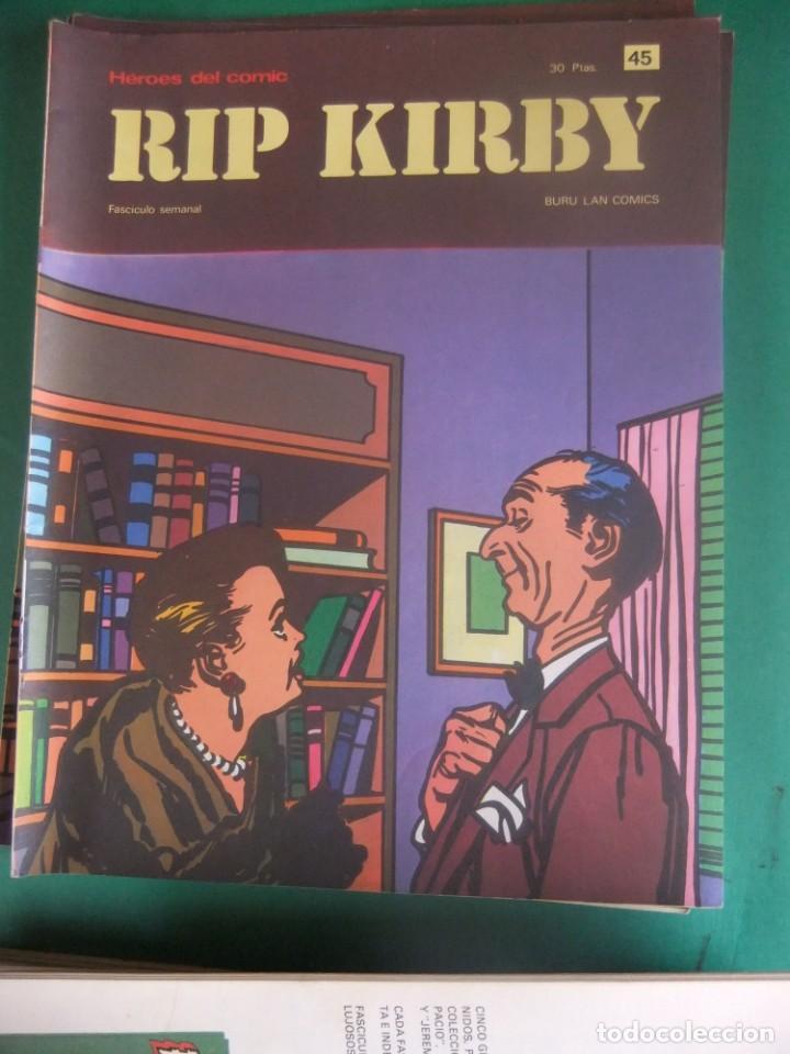 Cómics: RIP KIRBY LOTE CON LOS NUMEROS DEL 25 AL 48 BURU LAN EDICIONES 1974 - Foto 22 - 266505843