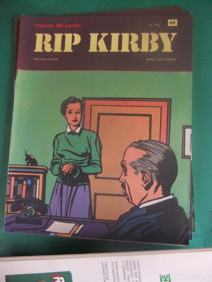 Cómics: RIP KIRBY LOTE CON LOS NUMEROS DEL 25 AL 48 BURU LAN EDICIONES 1974 - Foto 23 - 266505843