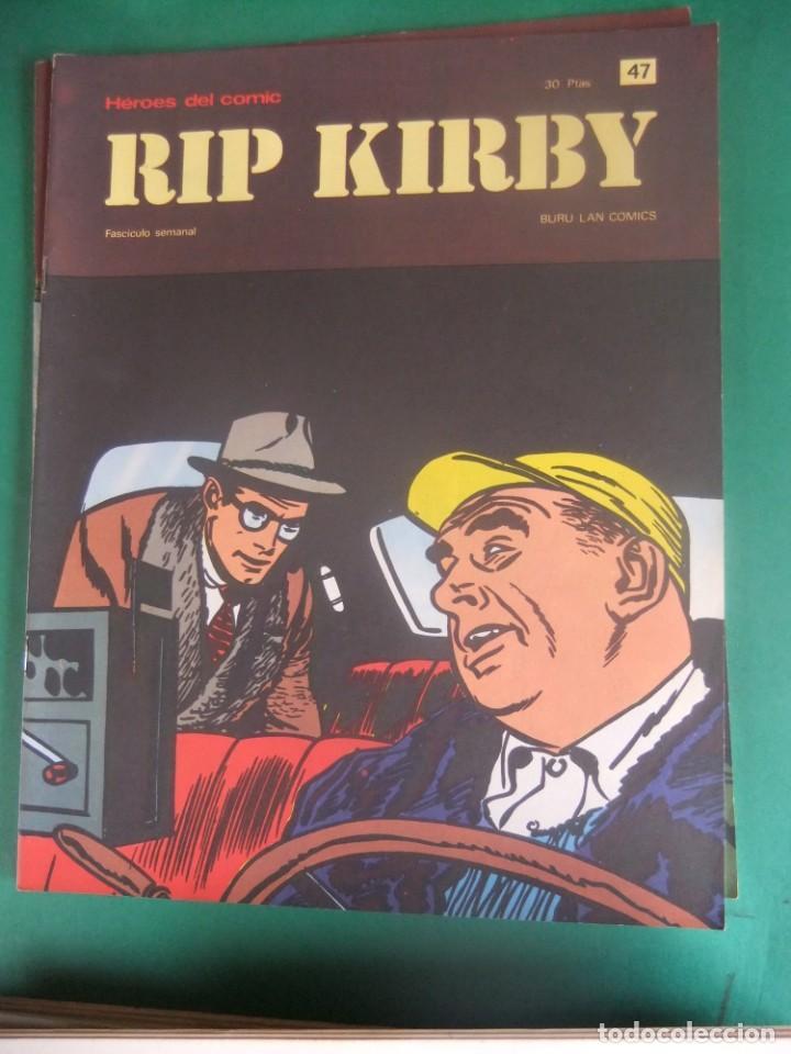 Cómics: RIP KIRBY LOTE CON LOS NUMEROS DEL 25 AL 48 BURU LAN EDICIONES 1974 - Foto 24 - 266505843