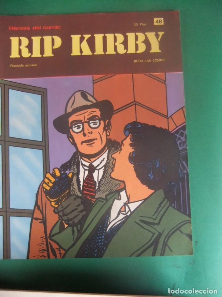 Cómics: RIP KIRBY LOTE CON LOS NUMEROS DEL 25 AL 48 BURU LAN EDICIONES 1974 - Foto 25 - 266505843