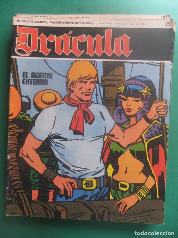 DRACULA BURU LAN LOTE DEL 25 AL 30 (Tebeos y Comics - Buru-Lan - Drácula)