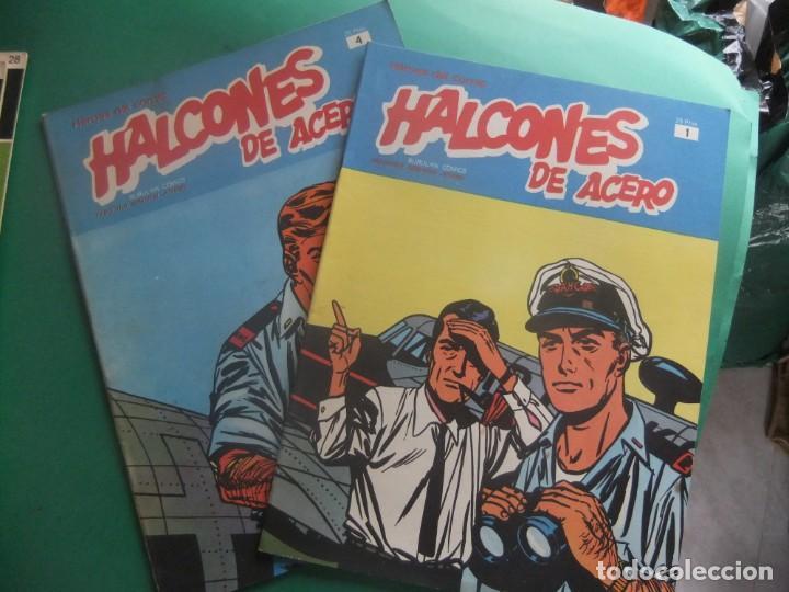 HALCONES DE ACERO NUMEROS 1 Y 4 BURULAN EDICIONES (Tebeos y Comics - Buru-Lan - Halcones de Acero)