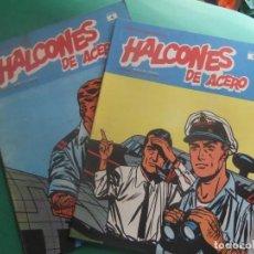 Cómics: HALCONES DE ACERO NUMEROS 1 Y 4 BURULAN EDICIONES. Lote 266507673