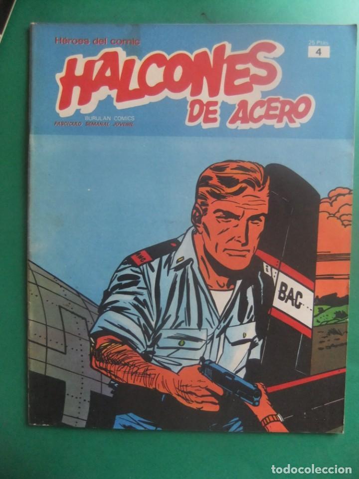 Cómics: HALCONES DE ACERO NUMEROS 1 Y 4 BURULAN EDICIONES - Foto 3 - 266507673