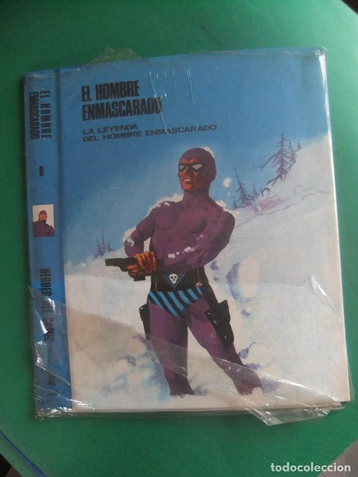 EL HOMBRE ENAMASCARADO TAPAS PARA ENCUADERNAR Nº 0 PRECINTADAS BURU LAN (Tebeos y Comics - Buru-Lan - Hombre Enmascarado)