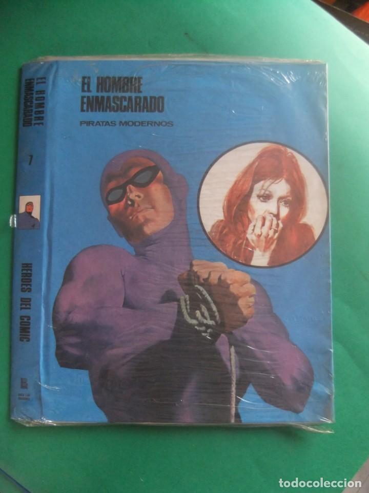 EL HOMBRE ENAMASCARADO TAPAS PARA ENCUADERNAR Nº 7 PRECINTADAS BURU LAN (Tebeos y Comics - Buru-Lan - Hombre Enmascarado)