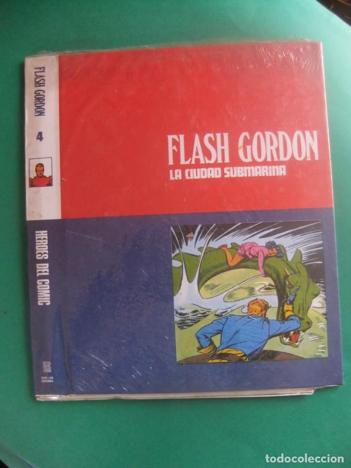 TAPAS PARA ENCUADERNAR LOS FASCICULOS DE FLASH GORDON Nº 4 BURULAN (Tebeos y Comics - Buru-Lan - Flash Gordon)