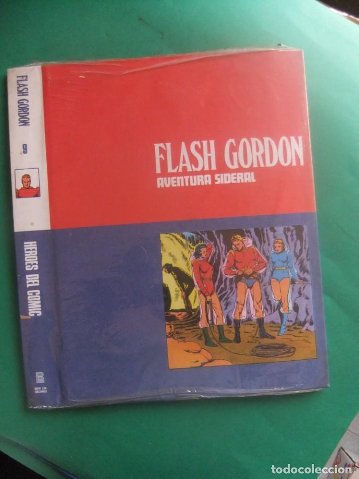TAPAS PARA ENCUADERNAR LOS FASCICULOS DE FLASH GORDON Nº 9 BURULAN (Tebeos y Comics - Buru-Lan - Flash Gordon)