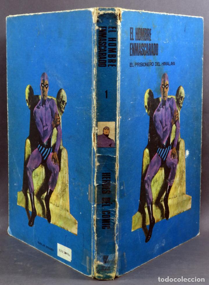 Cómics: El Hombre Enmascarado nº 1 El prisionero del Himalaya Editorial Buru Lan Burulan 1971 - Foto 2 - 266910224