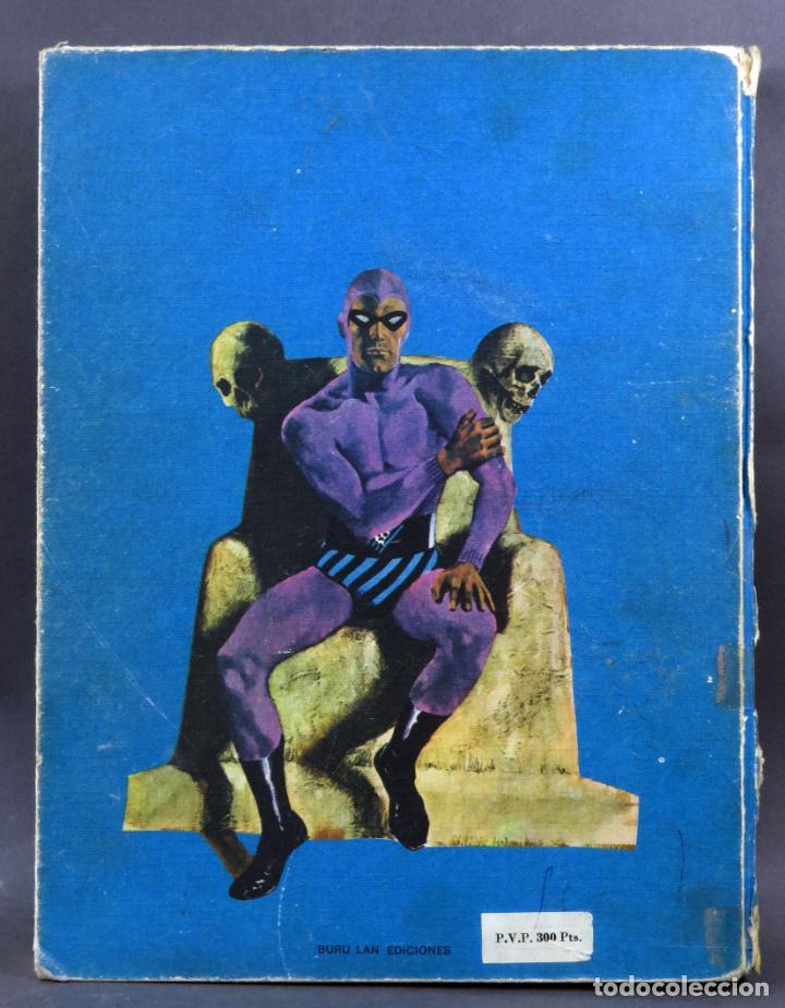 Cómics: El Hombre Enmascarado nº 1 El prisionero del Himalaya Editorial Buru Lan Burulan 1971 - Foto 5 - 266910224