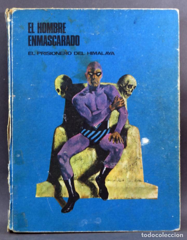 EL HOMBRE ENMASCARADO Nº 1 EL PRISIONERO DEL HIMALAYA EDITORIAL BURU LAN BURULAN 1971 (Tebeos y Comics - Buru-Lan - Hombre Enmascarado)