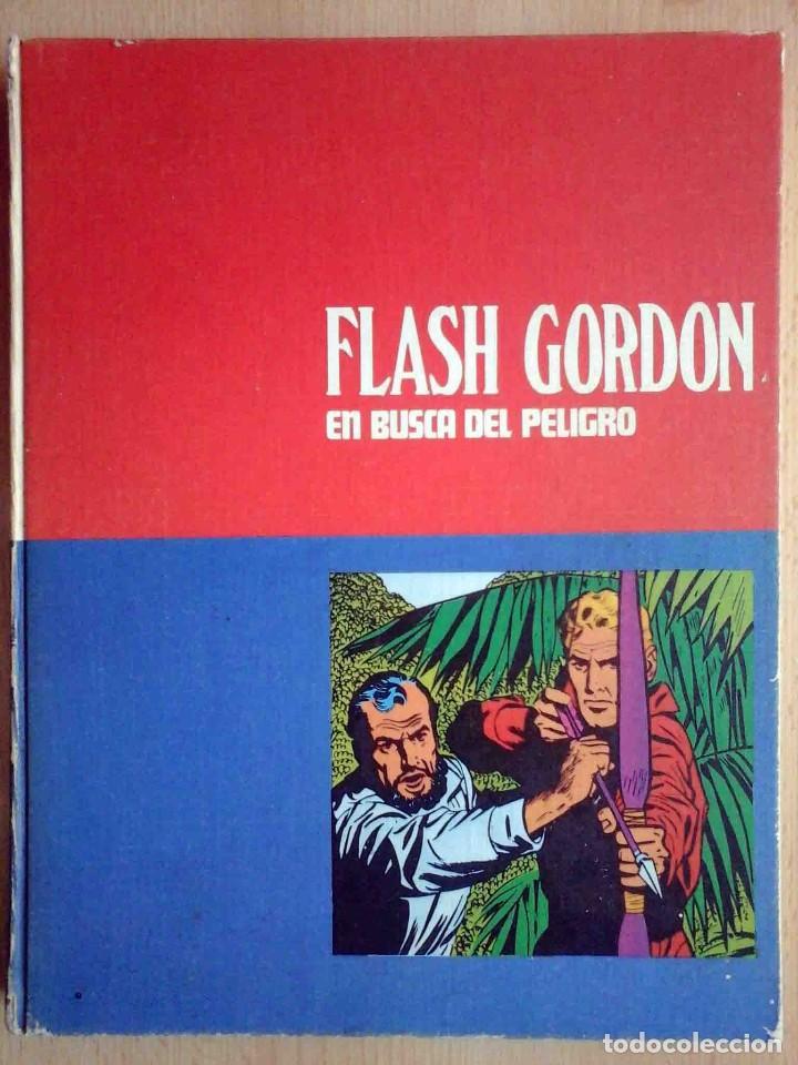 FLASH GORDON Nº 6 TOMO EN BUSCA DEL PELIGRO - BURU LAN 1972 (Tebeos y Comics - Buru-Lan - Flash Gordon)