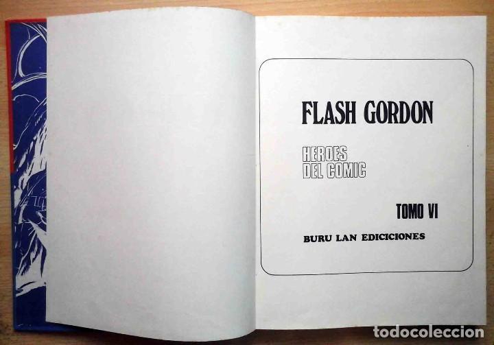 Cómics: Flash Gordon Nº 6 Tomo En busca del peligro - Buru Lan 1972 - Foto 3 - 266961924