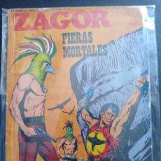 Cómics: ZAGOR FIERAS MORTALES # 58. Lote 267133644